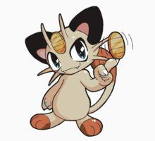 Pokemon - Meowth Kids Tee
