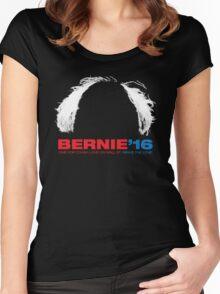 Bernie Sanders for President - Hair Women's Fitted Scoop T-Shirt