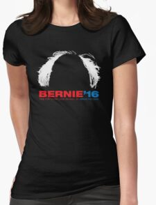 Bernie Sanders for President - Hair Womens Fitted T-Shirt