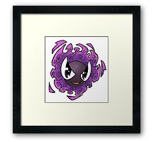 Pokemon - Gastly Framed Print