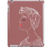 High Class Female iPad Case/Skin