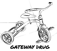 Bicycle Gateway Drug by Geoff Pavey