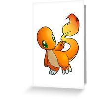 Pokemon - Charmander Greeting Card