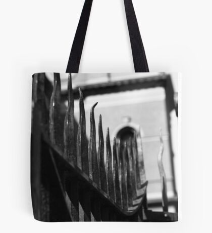 """There was a crooked man ..."" Tote Bag"
