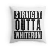 Adventurer with Attitude: Whiterun Throw Pillow
