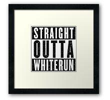Adventurer with Attitude: Whiterun Framed Print