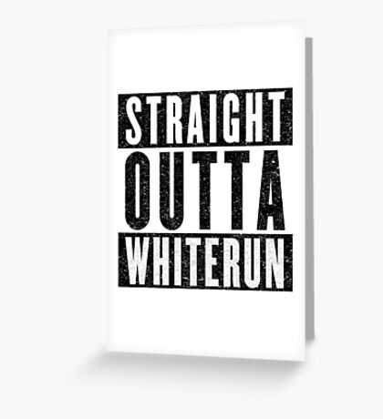 Adventurer with Attitude: Whiterun Greeting Card