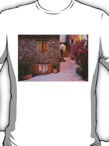 Gassin - classified as a most beautiful village on the French Riviera T-Shirt