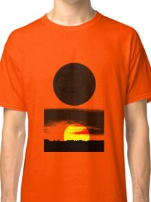 Sunset Abstract Classic T-Shirt
