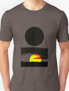 Sunset Abstract T-Shirt