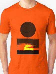Sunset Abstract Unisex T-Shirt