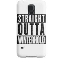Adventurer with Attitude: Winterhold Samsung Galaxy Case/Skin