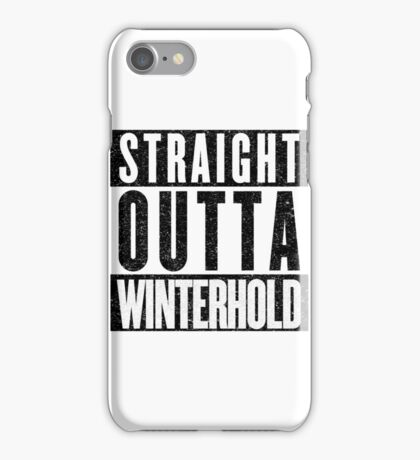 Adventurer with Attitude: Winterhold iPhone Case/Skin