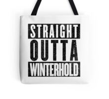 Adventurer with Attitude: Winterhold Tote Bag