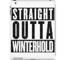 Adventurer with Attitude: Winterhold iPad Case/Skin