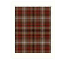 02873 Whatcom County, Washington Tartan  Art Print
