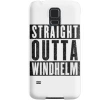 Adventurer with Attitude: Windhelm Samsung Galaxy Case/Skin