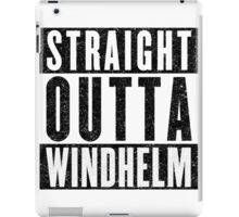 Adventurer with Attitude: Windhelm iPad Case/Skin