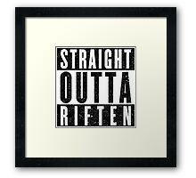 Adventurer with Attitude: Riften Framed Print