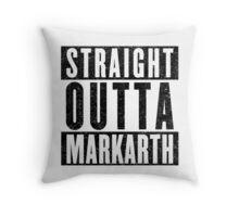 Adventurer with Attitude: Markarth Throw Pillow