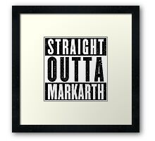Adventurer with Attitude: Markarth Framed Print