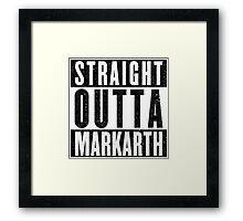 Adventurer with Attitude: Markarth Framed Print