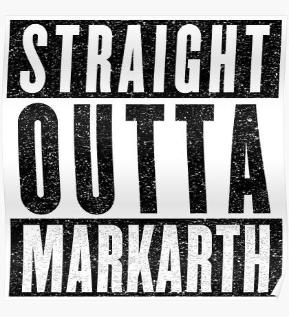 Adventurer with Attitude: Markarth Poster