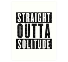 Adventurer with Attitude: Solitude Art Print