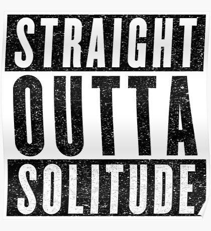 Adventurer with Attitude: Solitude Poster