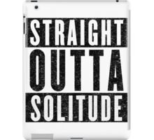 Adventurer with Attitude: Solitude iPad Case/Skin