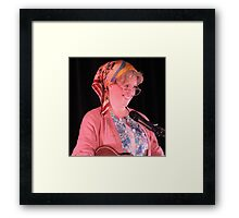 Granny Flaps (Lori Bell) - Comedian Framed Print