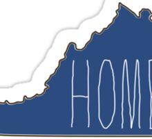 Virginia home Sticker