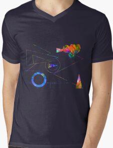 Abstract 167J Mens V-Neck T-Shirt