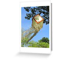 Buddhist kite Greeting Card
