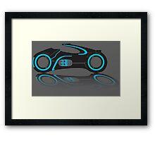 Tron Lightcycle Framed Print