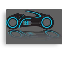 Tron Lightcycle Canvas Print