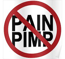 No Pain Pimps Poster