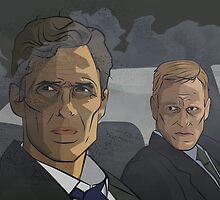 True Detective: Rust and Marty by geekjam