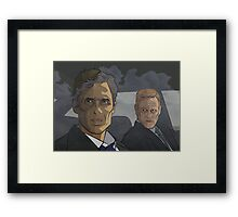 True Detective: Rust and Marty Framed Print