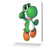 Super Mario Bros. - Yoshi Greeting Card