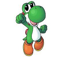 Super Mario Bros. - Yoshi Photographic Print