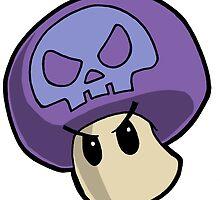Super Mario Bros. - Poison Mushroom by 57MEDIA