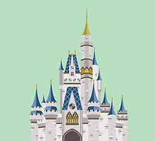 Disney World Cinderella Castle by DesignsByAND