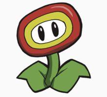 Super Mario Bros. - Fire Flower Kids Clothes