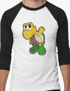 Super Mario Bros. - Koopa Troopa Men's Baseball ¾ T-Shirt