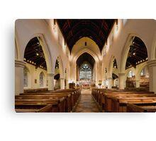 St.James's church, Weybridge Canvas Print