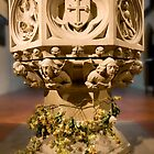 The font at St.James's, Weybridge by Rachael Talibart