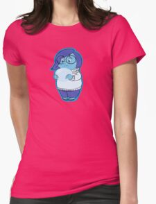 Little Sadness Womens Fitted T-Shirt