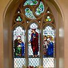 The Burne-Jones window, St.James's, Weybridge. by Rachael Talibart