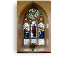 The Burne-Jones window, St.James's, Weybridge. Canvas Print